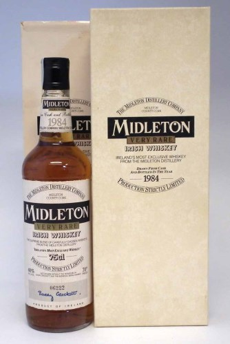 Lot 32-Midleton Very Rare Irish Whiskey - 1984 - 75cl