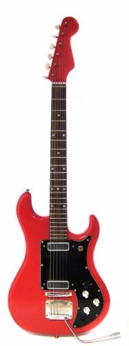 Lot 76-Watkins Rapier electric guitar with case