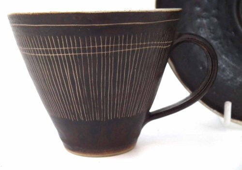 154 - Lucie Rie cup and saucer