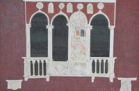 Lot 375-Martin Nash, Venetian Balcony, oil.