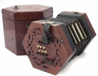 47 - William Sprague 32 key concertina,