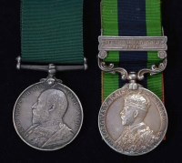 59 - India General Service Medal and Volunteer Long Service Medal (2).