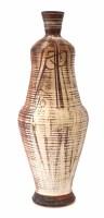 293 - Robert J Washington (1913-1997), vase, decorated