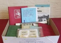 134 - One box of railway ephemera