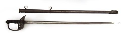 Lot 37-Victorian 1897 pattern Officer's sword