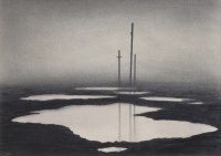 374 - Trevor Grimshaw, Poles and Pools, graphite.