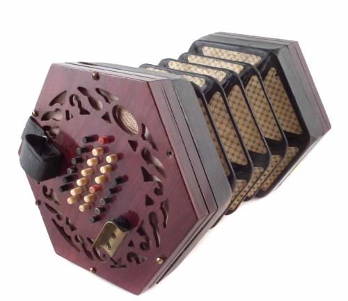 Lot 79-Ebblewhite concertina.