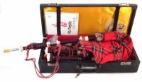 24 - Cased set of Scottish Bagpipes
