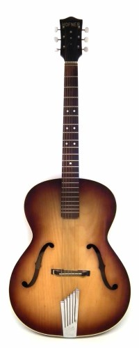 Lot 39-Hofner Congress archtop guitar