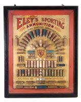 118 - Eley's sporting ammunition display.