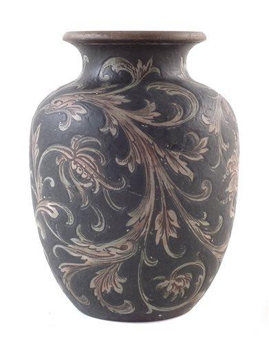 Lot 214 - Martin Brothers vase.