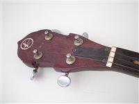 Lot 27-Kay five string banjo
