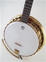Lot 15-John Grey and Sons Benares four string banjo