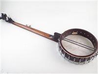 Lot 18-Gold Tone WL-250+ five string banjo