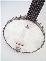 Lot 21-George Mathews zither banjo