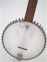 Lot 22-Lyon and Healy five string banjo