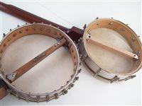 Lot 20-Windsor Popular five string banjo and Downsouth banjo