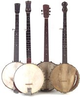 Lot 48-Four five string banjos