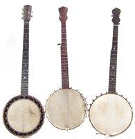 26 - Three banjos