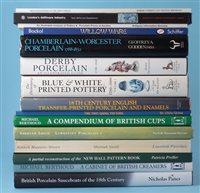 Lot 172-Sixteen ceramic reference books