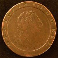 Lot 45-King George III, Twopence, 1797.
