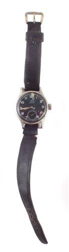Lot 49-Omega military wrist watch
