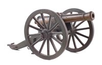 9 - Model of a Napoleonic field gun