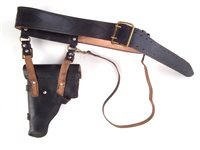Lot 43-Russian dress belt and holster