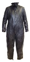 66 - German U-Boat seaman's leather one piece coverall