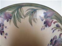 Lot 72 - Moorcroft wisteria pattern vase